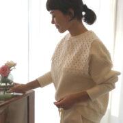 予約販売スタートしました!早坂香須子さんのHOLIDAYキルティングスーツ